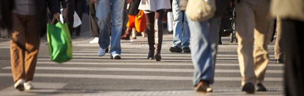 Marche dans la ville