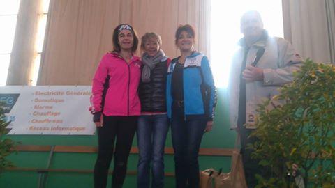 Bain de Bretagne Marche nordique femmes