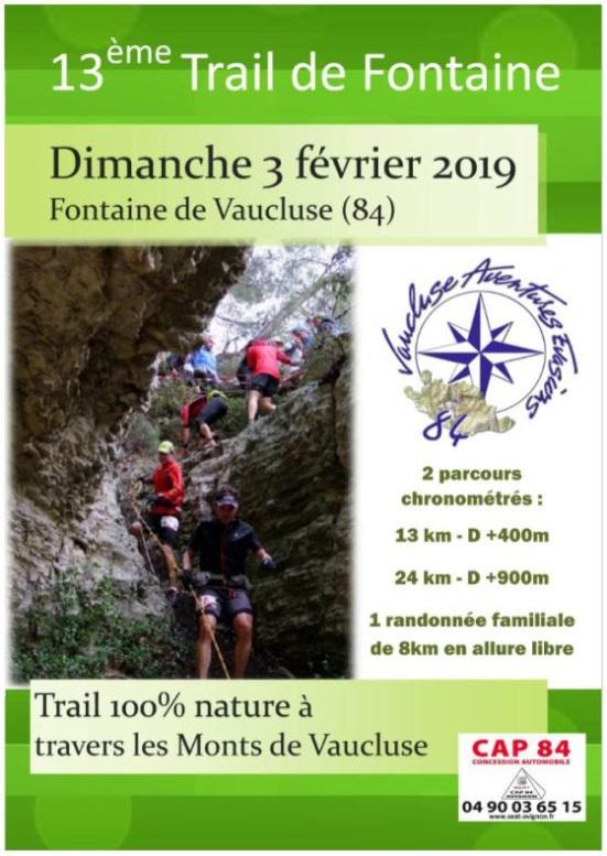 Trail de Fontaine