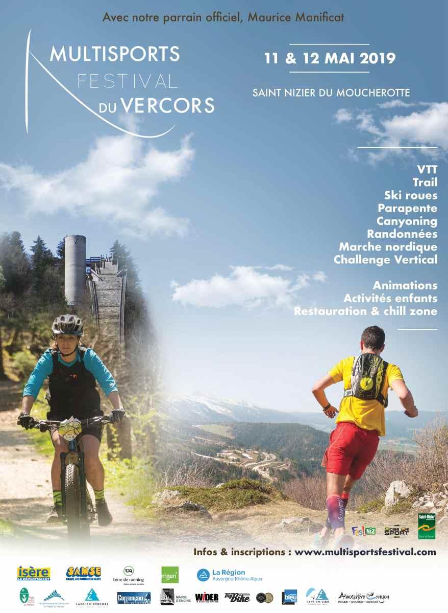 Multisports Festival du Vercors : 11 et 12 mai 2019
