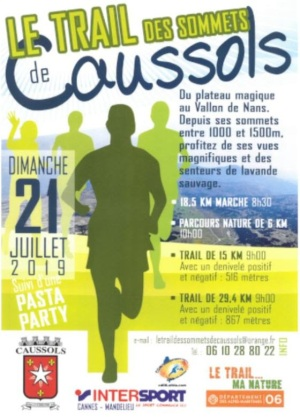 TRail de Caussols