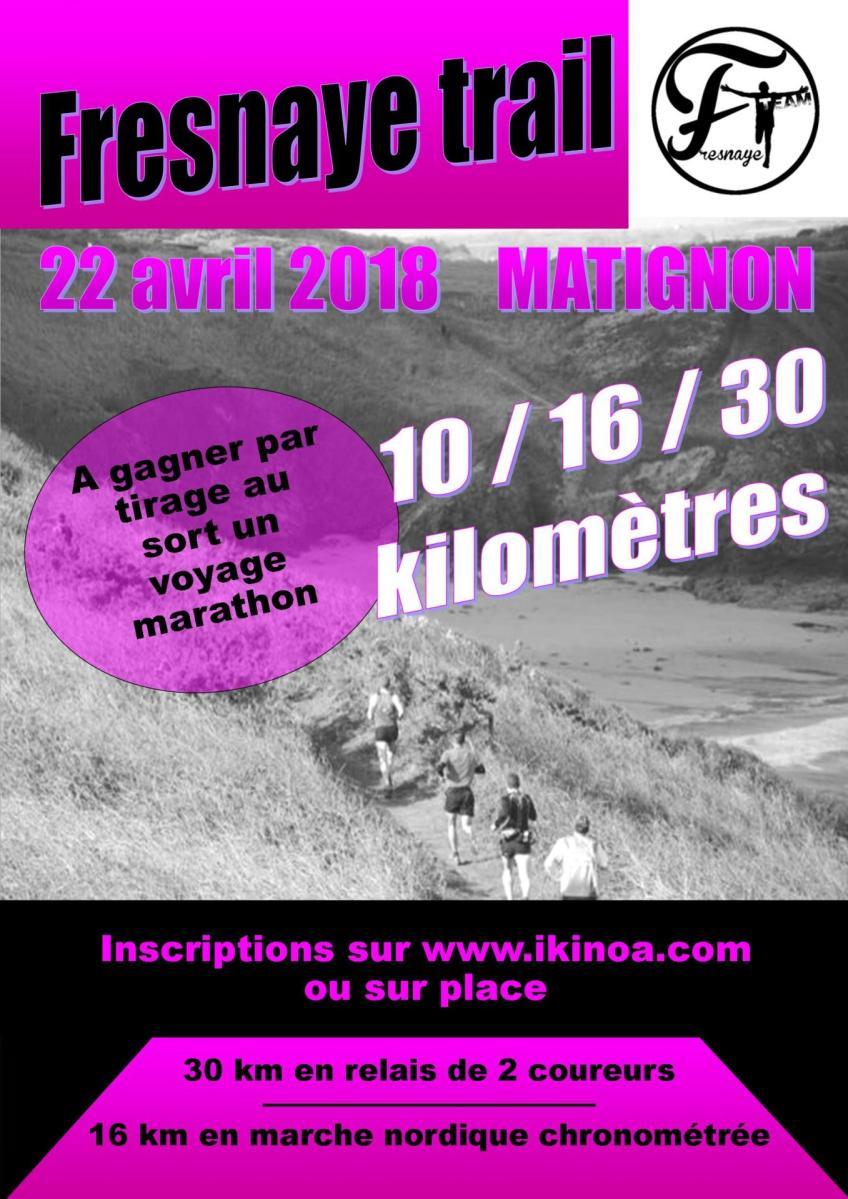 Fresnaye Trail Matignon : Dimanche 21 avril 2019