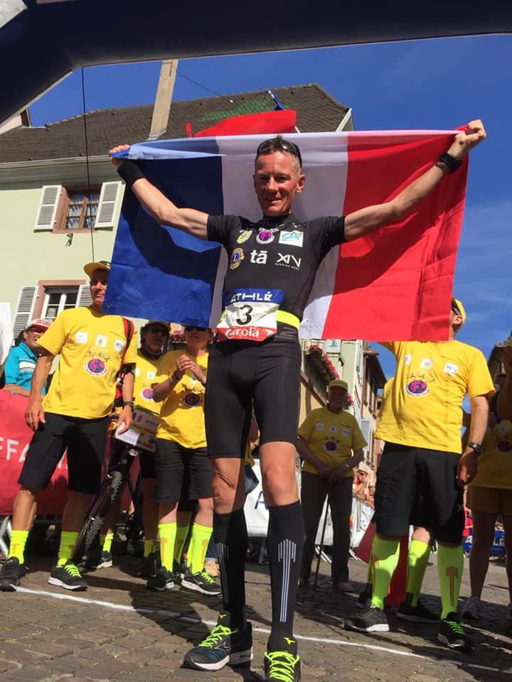 Jean-Marie Rouault. 8 juin 2019, à Ribeauvillé / Vainqueur du Paris Alsace